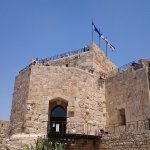 The Tower ... great view of Jerusalem from the top