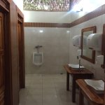 When even the guide books talk about the restrooms, I feel like I must post a pic or two. Oh, an