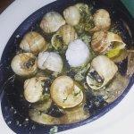 Escargot...lots of garlic