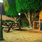 Sasaki Apartments BBQ Lounge Area