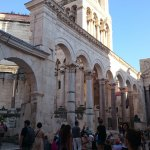 The Peristyle of Diocletian's Palace Foto