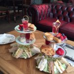 Gorgeous afternoon tea.