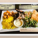 Lamb Chops with Lebanese Tabouleh and Tunisian Salad
