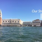 Photo shows the close proximity of the B&B to Doge's Palace and St. Mark's Square.