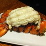 Lobster tail dinner (photo doesn't do it justice!)