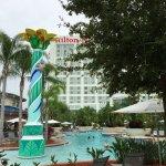 Hilton Orlando pool & lazy river