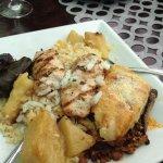Lunch Platter for 2 on a dinner plate