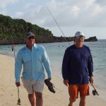 fly fishing and deep sea fishing with Tom and Tony from Kids Sea Camp