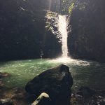Beautiful Uvita waterfall - slide and jump are great!