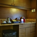 CBTL Coffee Machine and free minibar items in Executive Suite