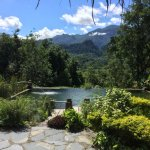 The swimming pool at is best!  With the beauty of nature of Luang Prabang.  Our villa Compassion
