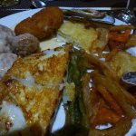 Great choice of main courses and good choices of fish meat vegetarian and children's options.