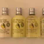 Hochwertige Badartikel von L'Occitane