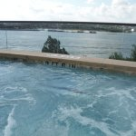 nice view of Lake Travis from hot jacuzzi