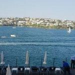 Maravillosas vistas desde la piscina del hotel