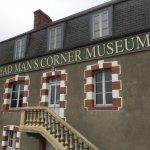 Outside entrance to dead Man's Corner Museum