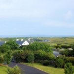 View towards the Aran Islands from Ashbrook Lodge Bed & Breakfast