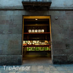 Entrance at the Casa Camper Hotel Barcelona