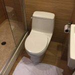 Very small bathroom.