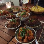 If you want variety, try an authentic rijstaffel