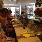 Mousse ricotta con riduzione di fragole + foto locale