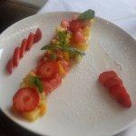Délicieuse salade de fruits