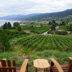 Stunning view of the Naramata Bench