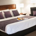 Chambre prestige avec 2 lits queen