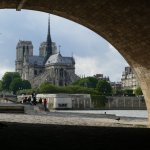 Notre Dame: a short walk over the Pont Saint Louis