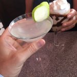 The sweet pear martini- perfect