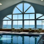 Take a swim in our lakefront Indoor pool