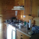 Kitchenette of Cabin 8