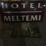 My stay at Hotel Meltemi was brief, just managed a few hours sleep.