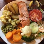 Solway Salmon at Kings Arms