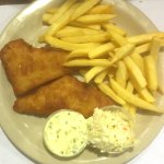 Billy's Fish and (yellow) Chips