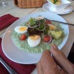 Grüne Soße mit Eiern