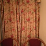 the curtains!