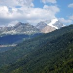 Balade sur les chemins des Alpes.