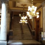Indiana Capitol Interior Staircase