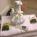Towel arrangement