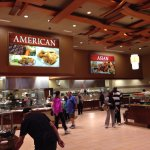 The American & Asian Food Sections