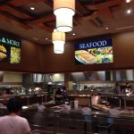The Seafood & American Food Sections