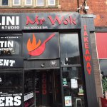 Mr wok directly opposite university entrance