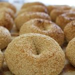 Hand-rolled real bagels