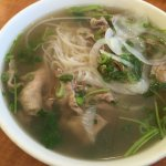 3. Rare Steak with rice noodle soup-small