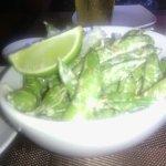 Spicy Edamame appetizer