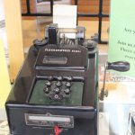 an adding machine
