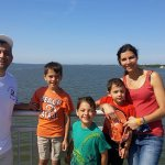delightful walk on bridge to Assateague State Park