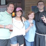"""Carley, the """"monk"""" and patrons"""