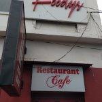 Main entrance of Restaurant.